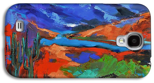 Along The Trail - Arizona Galaxy S4 Case by Elise Palmigiani