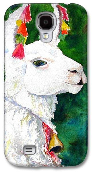 Llama Galaxy S4 Case - Alpaca With Attitude by Carlin Blahnik CarlinArtWatercolor