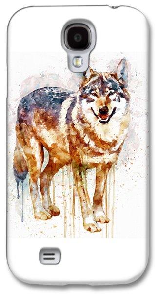 Alpha Wolf Galaxy S4 Case by Marian Voicu