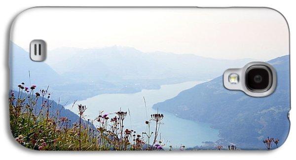 Alpine Flora On Top Of Schynige Platte Galaxy S4 Case