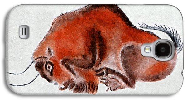 Altamira Prehistoric Bison At Rest Galaxy S4 Case