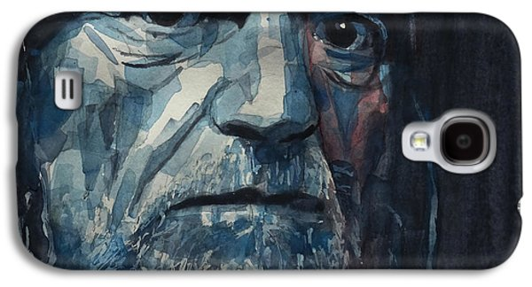Always On My Mind - Willie Nelson  Galaxy S4 Case by Paul Lovering