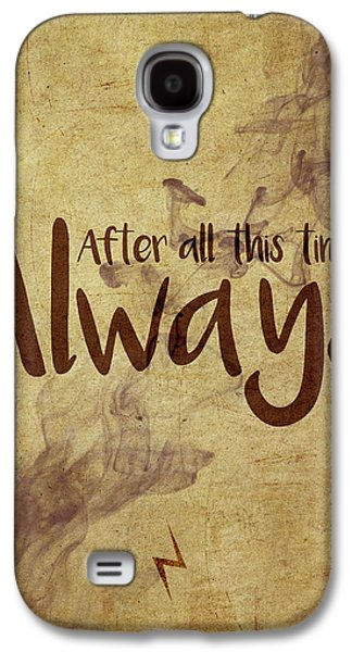 Wizard Galaxy S4 Case - Always by Samuel Whitton