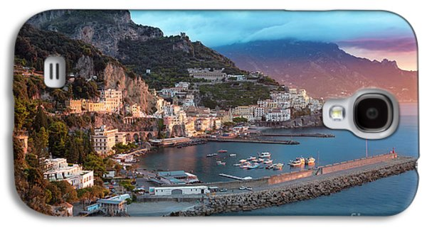 Amalfi Sunrise Galaxy S4 Case by Brian Jannsen