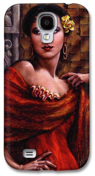 Amarillo Rose Galaxy S4 Case by Jane Bucci