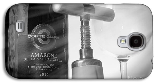 Amarone Wine And Bottle Opener Galaxy S4 Case by Stefano Senise