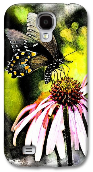 Amazing Butterfly Watercolor 2 Galaxy S4 Case by Marty Koch