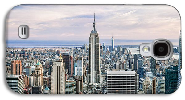 City Scenes Galaxy S4 Case - Amazing Manhattan by Az Jackson
