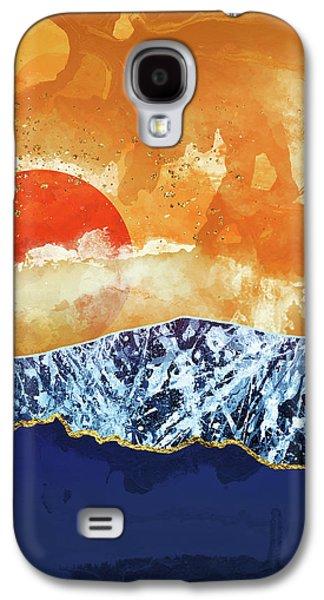 Landscapes Galaxy S4 Case - Amber Dusk by Katherine Smit