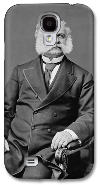 Ambrose Burnside And His Sideburns Galaxy S4 Case by War Is Hell Store