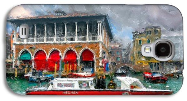 Ambulanza. Venezia Galaxy S4 Case by Juan Carlos Ferro Duque