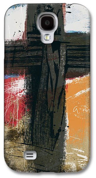 Amen Contemporary Cross- Art By Linda Woods Galaxy S4 Case