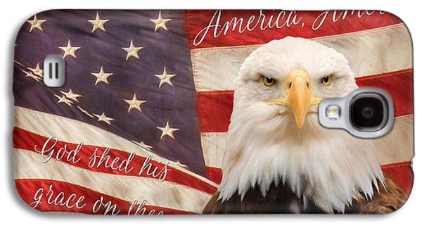 America, America Galaxy S4 Case by Lori Deiter