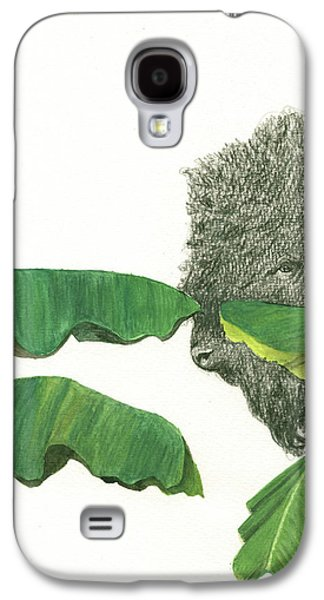 Banana Galaxy S4 Case - American Buffalo 1 by Juan Bosco