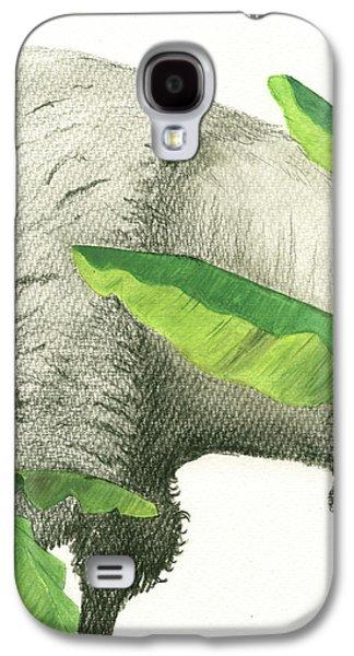 Banana Galaxy S4 Case - American Buffalo 2 by Juan Bosco