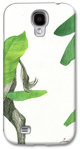 Banana Galaxy S4 Case - American Buffalo 3 by Juan Bosco