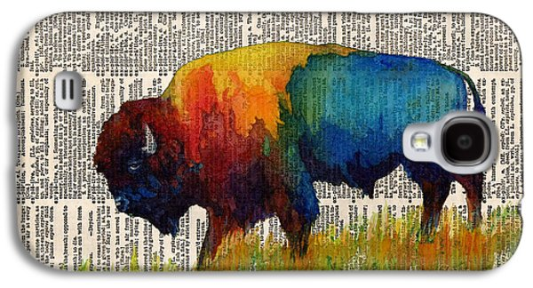 American Buffalo IIi On Vintage Dictionary Galaxy S4 Case
