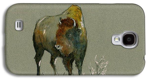 American Buffalo Galaxy S4 Case by Juan  Bosco
