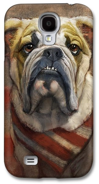 American Bulldog Galaxy S4 Case by Sean ODaniels
