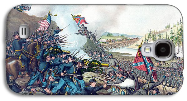 American Civil War, Battle Of Franklin Galaxy S4 Case by Science Source