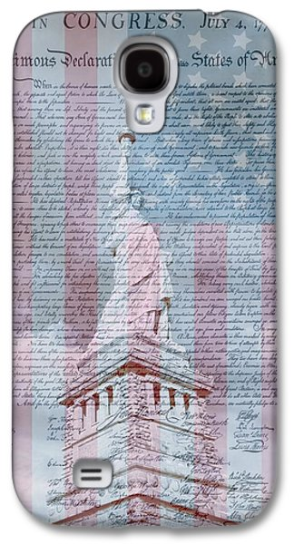 American Declaration Of Independence Galaxy S4 Case by Dan Sproul