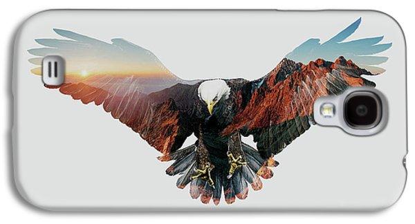 American Eagle Galaxy S4 Case by John Beckley
