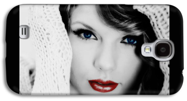 American Girl Taylor Swift Galaxy S4 Case by Brian Reaves