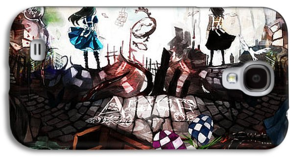Design Galaxy S4 Case - American Mcgee's Alice by Super Lovely