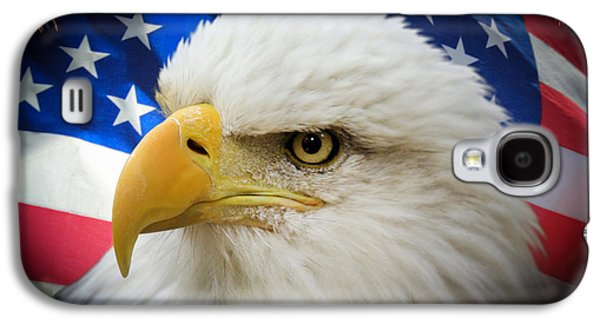 American Pride Galaxy S4 Case by Shane Bechler