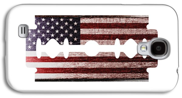 American Razor Galaxy S4 Case by Nicholas Ely