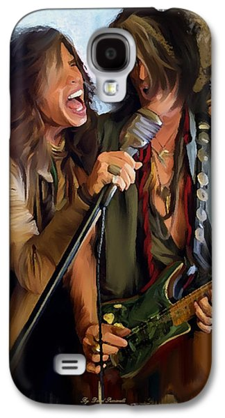 American Rock  Steven Tyler And Joe Perry Galaxy S4 Case
