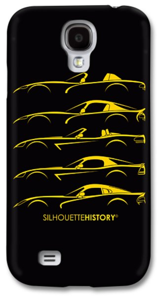 Viper Galaxy S4 Case - American Snakes Silhouettehistory by Gabor Vida