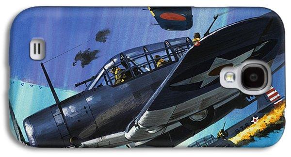 American Torpedo Planes Of World War Two Galaxy S4 Case