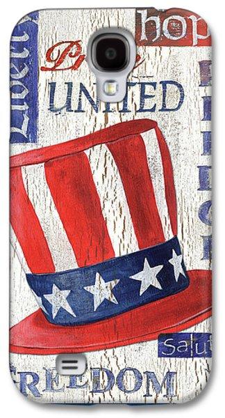 Americana Patriotic Galaxy S4 Case by Debbie DeWitt