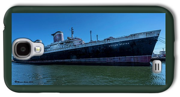 America's Flag Ship Galaxy S4 Case by Marvin Spates