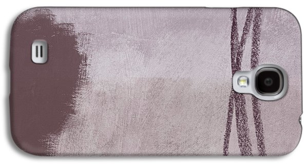 Amethyst 2- Abstract Art By Linda Woods Galaxy S4 Case