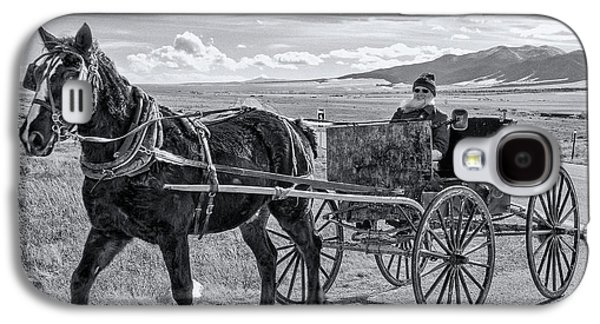 Amish Buggy Driver Galaxy S4 Case by John Bartelt