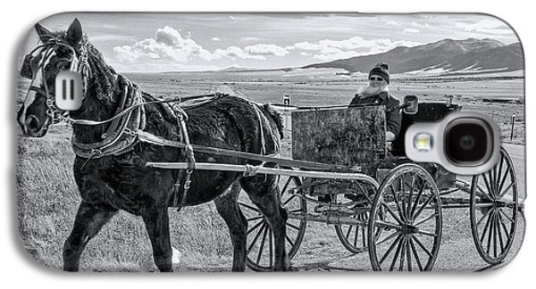 Amish Buggy Driver Galaxy S4 Case