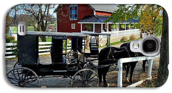 Amish Country Horse And Buggy Galaxy S4 Case