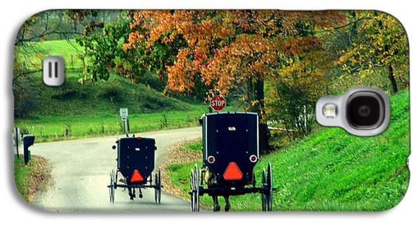Amish Country In Autumn Ohio Holmes County Galaxy S4 Case by Charlene Cox