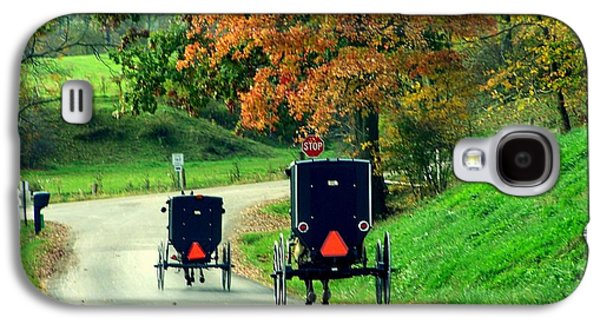 Amish Country In Autumn Ohio Holmes County Galaxy S4 Case