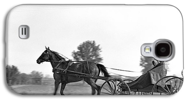Amish In Horse-drawn Buggy, C.1930s Galaxy S4 Case