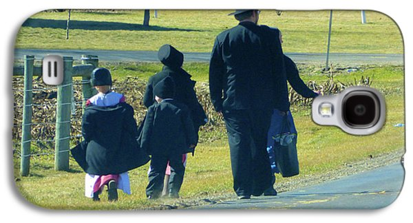 Amish Sunday 1 Of 5 Galaxy S4 Case by Tina M Wenger