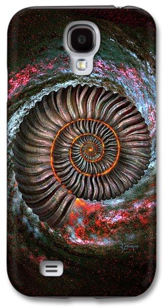Ammonite Galaxy Galaxy S4 Case
