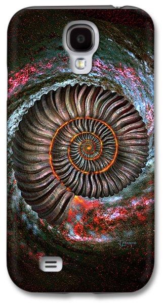 Ammonite Galaxy Galaxy S4 Case by Jerry LoFaro