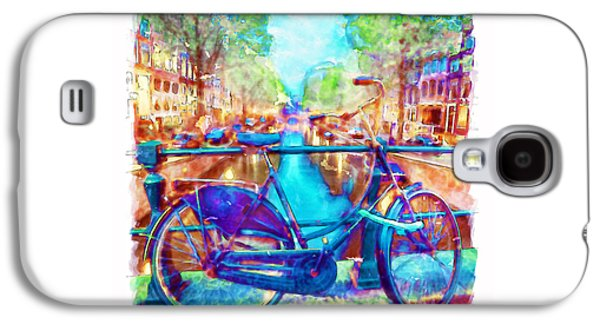 Amsterdam Bicycle Galaxy S4 Case by Marian Voicu