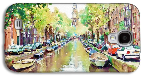 Amsterdam Canal 2 Galaxy S4 Case by Marian Voicu