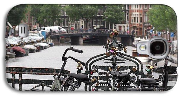 Amsterdam Galaxy S4 Case by Rona Black
