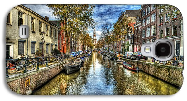 Hdr Photographs Galaxy S4 Cases - Amsterdam Galaxy S4 Case by Svetlana Sewell