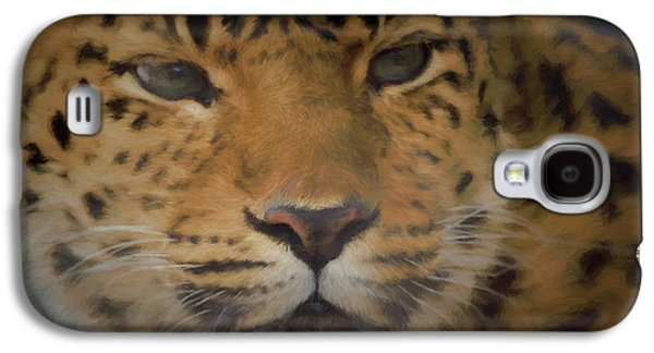 Amur Leopard Dp Galaxy S4 Case